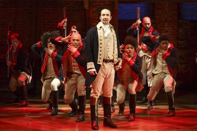 La comédie musicale Hamilton... (PHOTO AP)