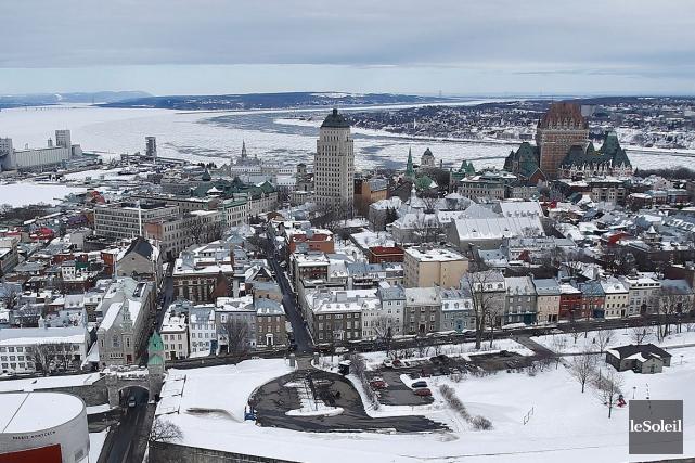 Le Vieux-Québec... (Photothèque Le Soleil, Yan Doublet)