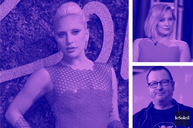 Lady Gaga: hommage à Bowie (Infographie Le Soleil)