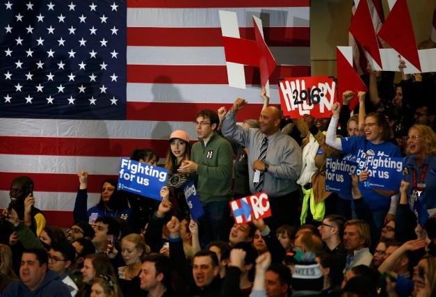 «L'Iowa, au fil des ans, nous a montré... (Photo Adrees Latif, Reuters)