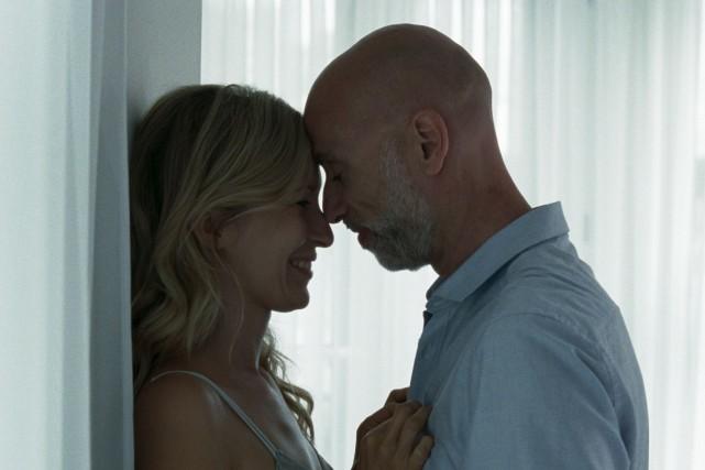 Simone-Élise Girard etJames Hyndman dansBoris sans Béatrice... (Fournie par K-Films Amérique)