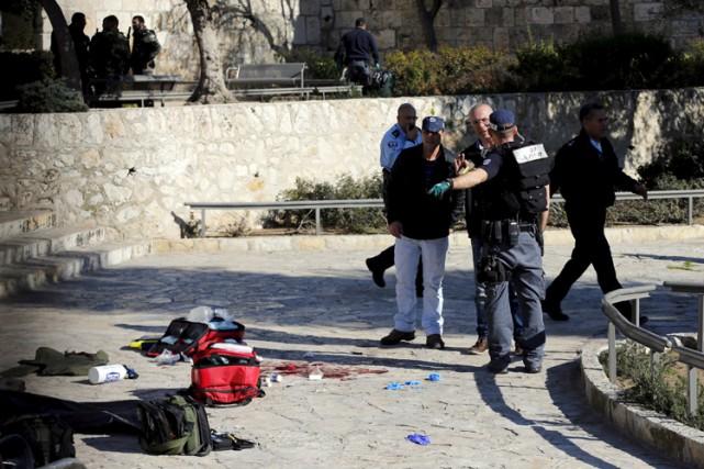 Ce dernier accès de violence s'est produit à... (PHOTO REUTERS)