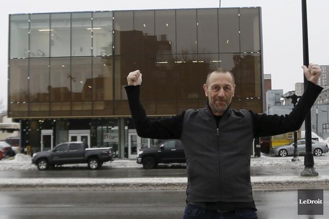 Marcel Aymar, le directeur artistique de La Nouvelle... (Simon-Séguin Bertrand, LeDroit)