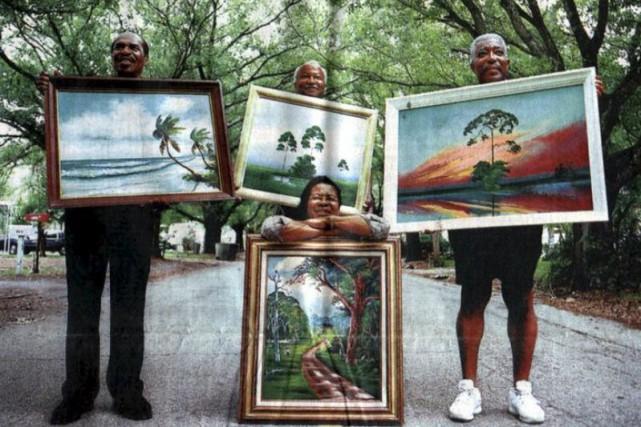 L'exposition de The Florida Highwaymen est présentée à... (Courtoisie)