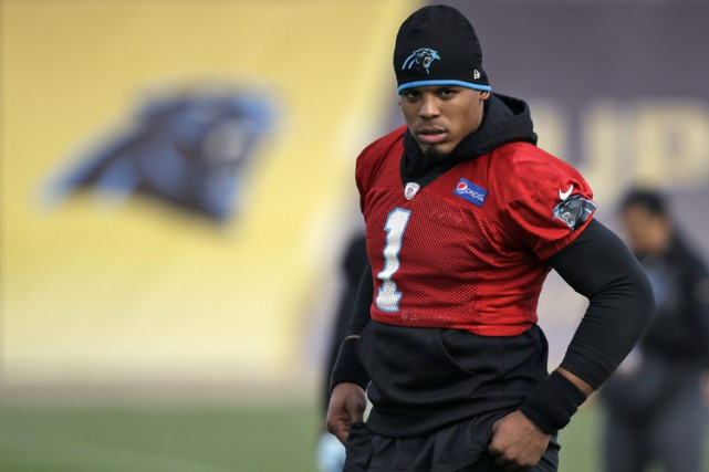 Cam Newton... (PHOTO AP)