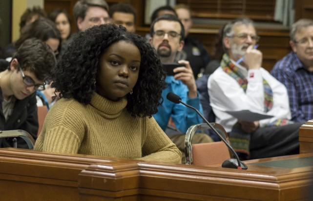 Janvière Tumushime, une élève de l'École internationale du... (Spectre, Marie-Lou Béland)