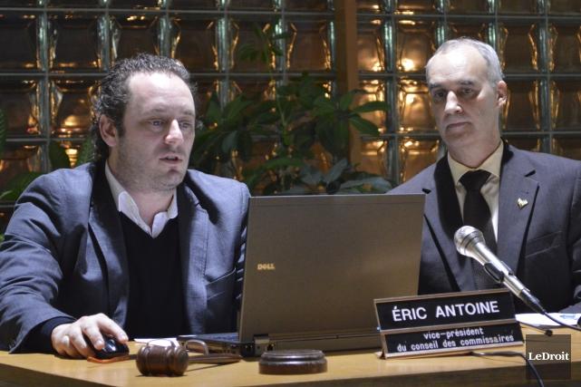 Éric Antoine a été nommé vice-président de la... (Benoit Sabourin, LeDroit)