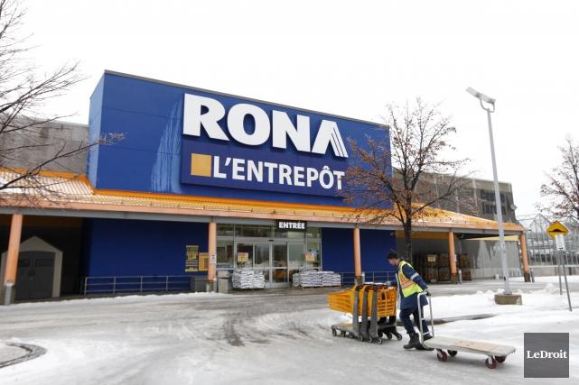 La vente de Rona à des intérêts américains constitue «une perte» pour le... (Simon-Séguin Bertrand, LeDroit)