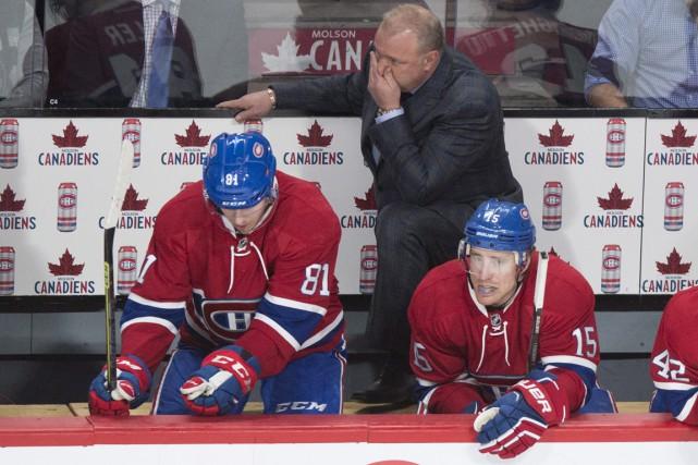 Michel Therrien s'est dit irrité par la performance... (La Presse Canadienne)