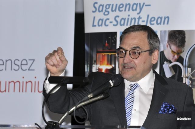 Le propriétaire du Quotidien et du Progrès-Dimanche, Martin... (Photo Le Quotidien, Rocket Lavoie)