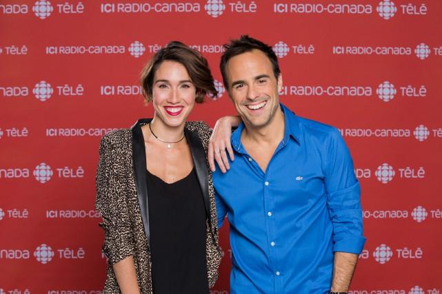 Bianca Gervais et Sébastien Benoît, qui se sont... (PHOTO FOURNIE PAR ICI RADIO-CANADA TÉLÉ)