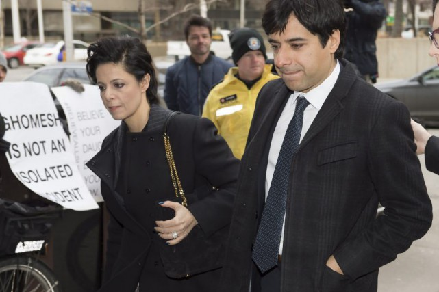 L'avocate Marie Henein et Jian Ghomeshi... (PHOTO FRANK GUNN, ARCHIVES LA PRESSE CANADIENNE)