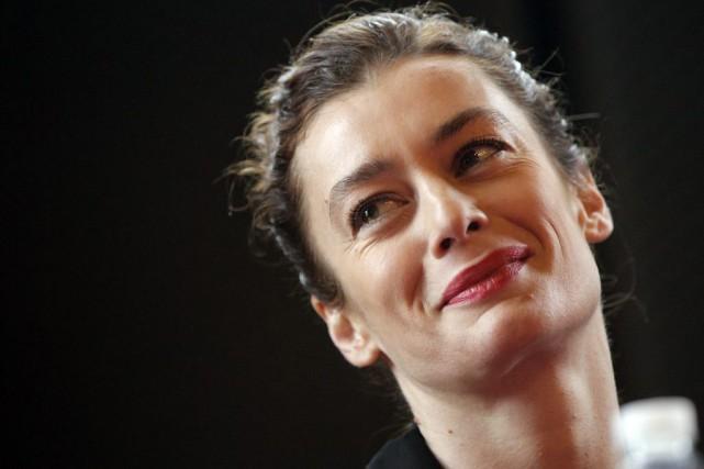 Aurélie Dupont lors de la conférence de presse... (PHOTO AP)
