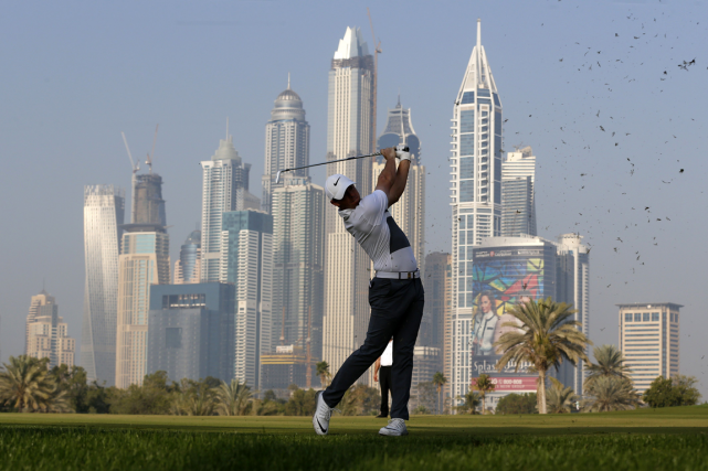 Rory McIlroy a joué 68 lors de la... (Photo Karim Sahib, AFP)