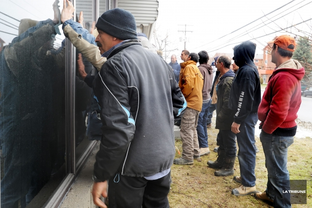 En 2011 à Sherbrooke, les membres de l'équipe... (Archives La Tribune, Jessica Garneau)