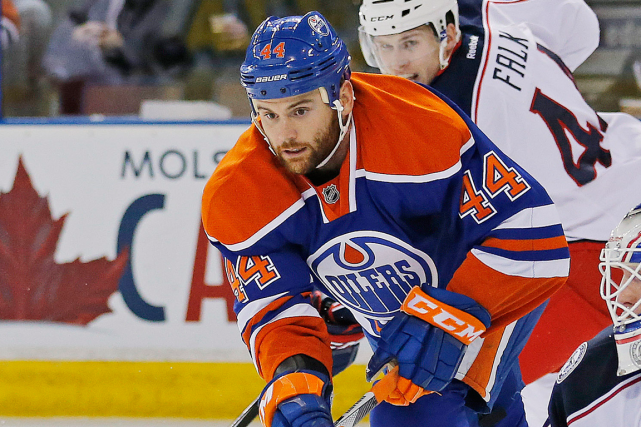 Zack Kassian a récolté huit points en 36... (Photo Perry Nelson, archives USA Today)