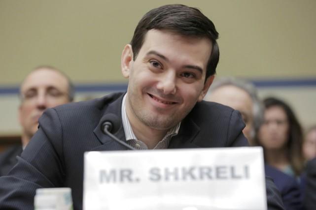 Sourire narquois, parfois arrogant, Martin Shkreli a évoqué... (PHOTO ARCHIVES REUTERS)