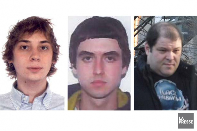 Didier Chetelat, 27 ans, David Boucher, 31 ans et Patrick... (PHOTOS FOURNIES PAR LA SQ)