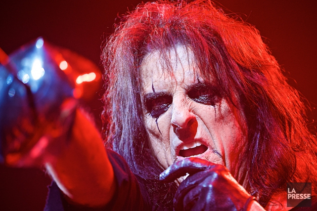 Alice Cooper... (PHOTO ANDRÉ PICHETTE, ARCHIVES LA PRESSE)