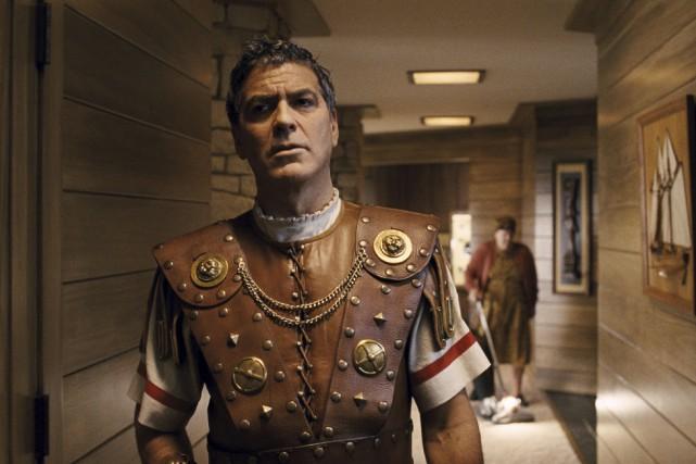 GeorgeClooney est la vedette d'Ave César!, la nouvelle... (Fournie par Universal Pictures)