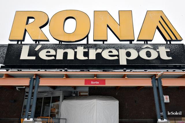 La vente de Rona, si impeccable soit-elle sur... (Photothèque Le Soleil, Patrice Laroche)