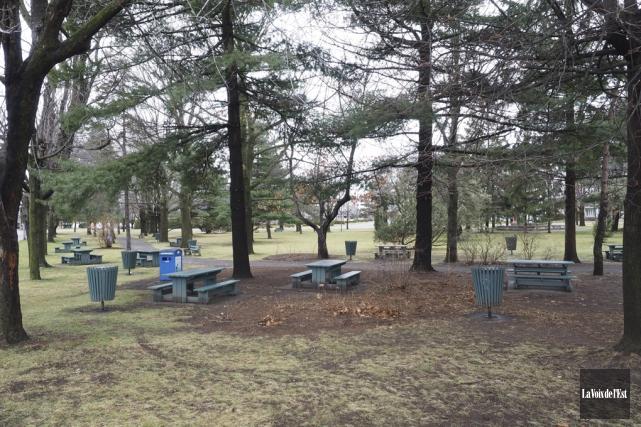 Le projet de réaménagement du parc Pelletier à... (Archives La Voix de l'Est)