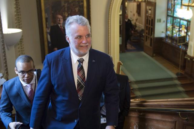 Partisan d'une économie «ouverte», Philippe Couillarda invité les... (La Presse Canadienne)