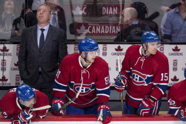 Michel Therrien a carrément avoué que le Canadien... (Archives La Presse Canadienne)