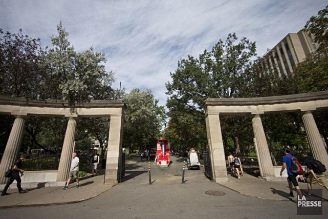 L'ampleur du rétrécissement financier imposé aux universités n'a... (Patrick Sanfaçon, Archives La Presse)