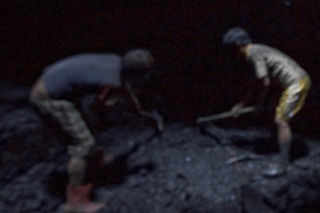 Une importante activité minière illégale a été détectée dans une région... (Photo archives The New York Times)