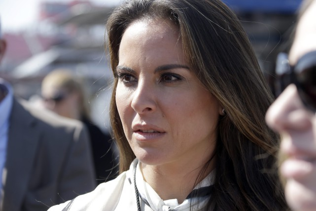 L'actrice Kate del Castillo... (Photo Archives AP)