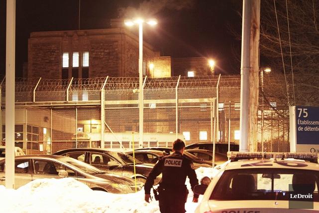 Les deux détenus étaient accusés d'avoir participé à... (Etienne Ranger, Archives LeDroit)
