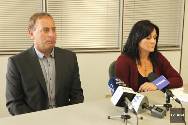 MarcCormier est accusé, avec sa conjointe Manuela Gonzalez,... (Simon Séguin-Bertrand, LeDroit)