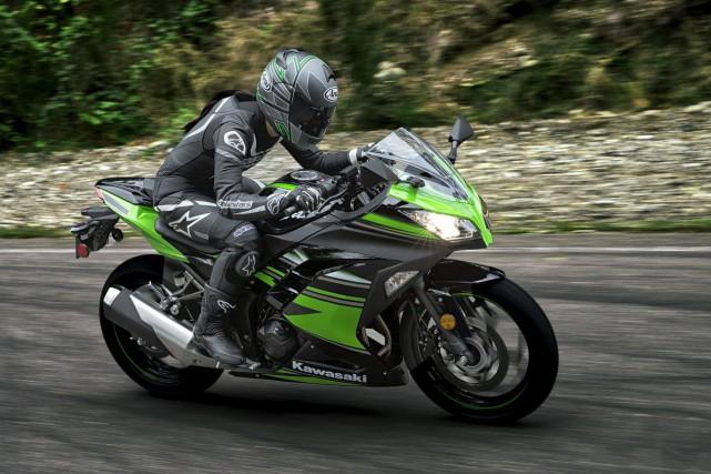 Vendredi, l'organisation du Salon de la moto et... (Fournie par Canadian Kawasaki)