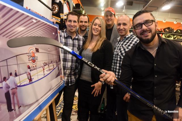 Les adeptes de dek hockey pourront pratiquer leur... (François Gervais, Le Nouvelliste)
