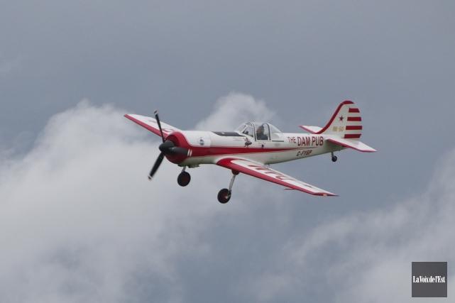 La première mouture du spectacle aérien des Cantons-de-l'Est... (Archives La Voix de l'Est)