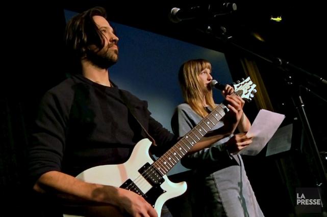 Le duo Mathieu Campagna et Catherine Dorion offrira... (Tirée d'un vidéo du Soleil, Frédéric Matte)