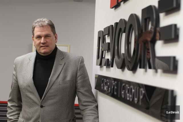 Le président du promoteur Devcore, Jean-Pierre Poulin, croit... (Patrick Woodbury, LeDroit)