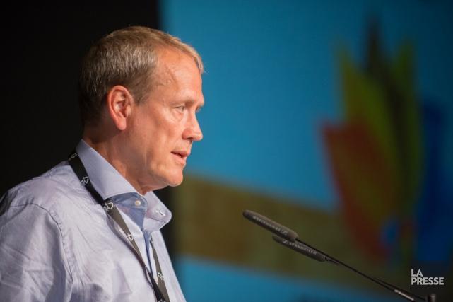 Le directeur général de FSC, Kim Carstensen... (Archives La Presse)