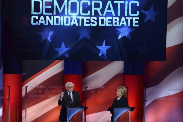 En débat jeudi soir, Hillary Clinton a insisté... (AFP, Jewel Samad)