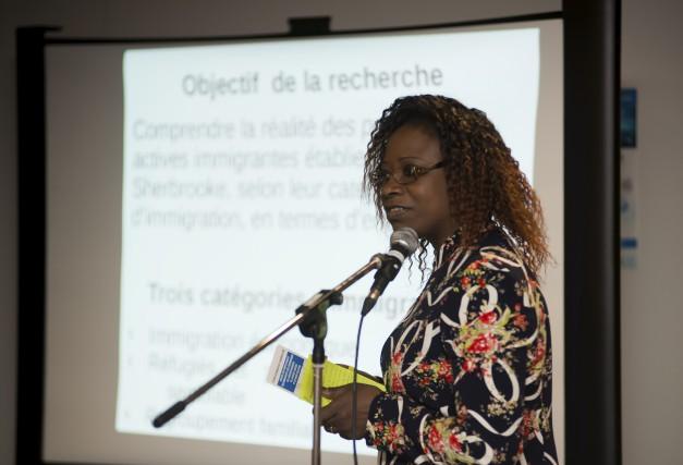 La chercheuse Marie Suzanne Badji (notre photo) et... (Spectre, Jessica Garneau)