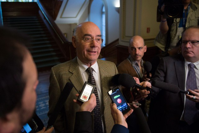 Le ministre des Transports, Jacques Daoust, a indiqué... (Photo jacques boissinnot, la presse canadienne)