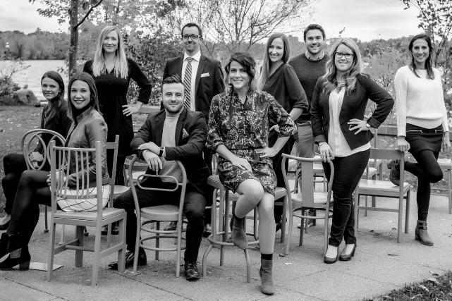 Des membres de la Jeune Société, un groupe... (Photo fournie)