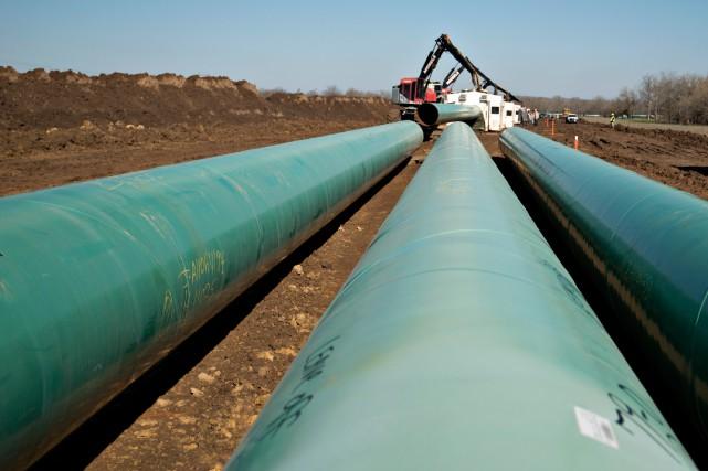 La réalisation du pipeline Énergie Est crée la... (PHOTO ARCHIVES BLOOMBERG)