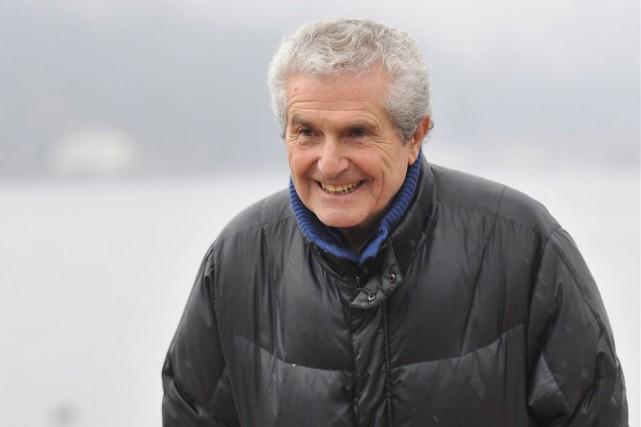 Claude Lelouch... (AFP, JEAN-CHRISTOPHE VERHAEGEN)