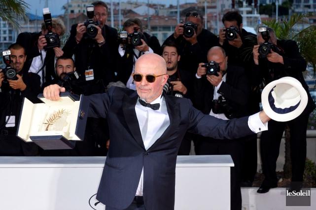 Le réalisateur Jacques Audiard a remporté la Palme... (Photothèque Le Soleil)