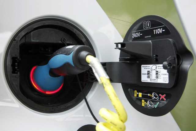 Les ventes de voitures électriques ont quadruplé en 2015 en Chine et devraient...