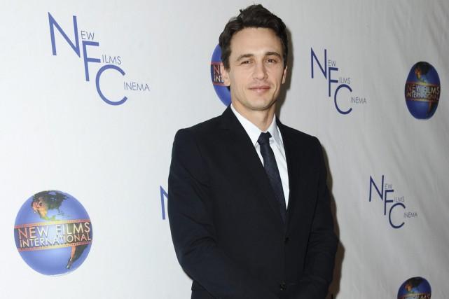 L'acteur James Franco réalisera un long métrage inspiré de l'histoire d'un... (PHOTO ARCHIVES AP)