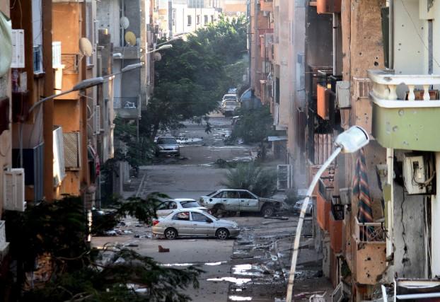 «La Libye est un terrain plat où il... (PHOTO MOHAMMED EL-SHEIKHY, ARCHIVES ASSOCIATED PRESS)