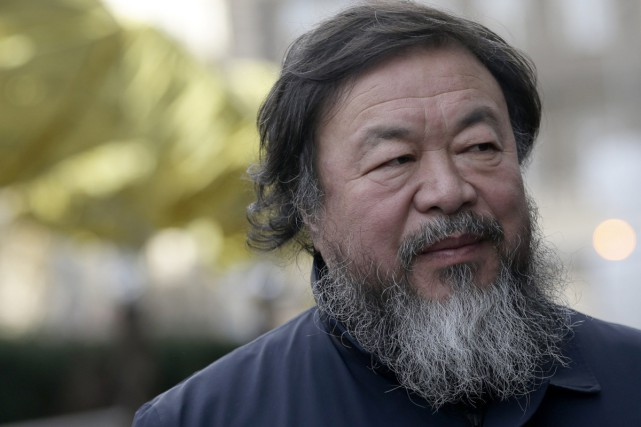 Ai Weiwei... (PHOTO AP)